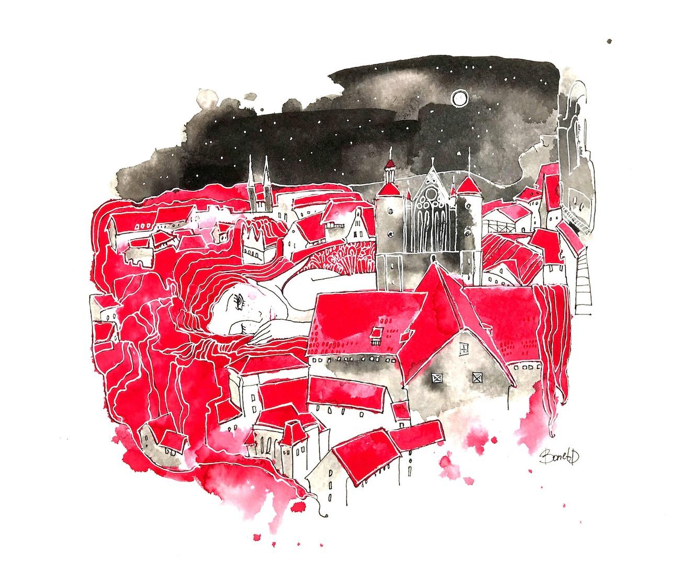 Дарья Бонет. Красный Брауншвайг.